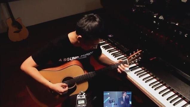 纯吉他弹唱 李健《车站》真走心!