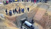 山丘挖出大墓,专家进入后吓得魂儿都飞了,立刻通知武警封锁现场