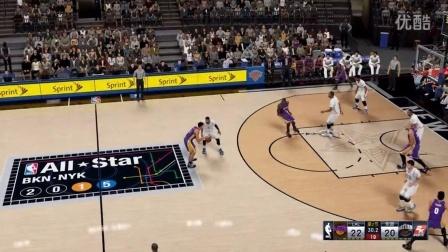 【电玩堂】不二《NBA 2K16》萌新试玩 詹姆斯...