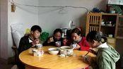 农村吃播试吃江西省九江市庐山市星子镇特产美食视频