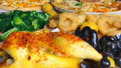 吃播:美食麻辣烫、披萨、蒸鸡、红烧肉、水果捞