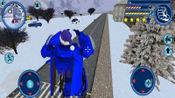 走走云游戏解说:变形机器人英雄,圣诞机器人遇上一群哥布林,把它们锤成星星