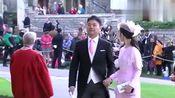 刘强东夫妇出席英国皇室婚礼!高调秀恩埃
