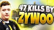 法国新星!ZyWoo 47杀!Dust2-Face it