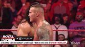 WWE:1月20日RAW兰迪·奥顿vs德鲁·麦金太尔,RKO防不胜防