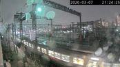 Live camera 鉄道 JR鹿児島本線 南福岡 kyuusyu train camera JR(2020-3-7 20:22:44-2:21:25)