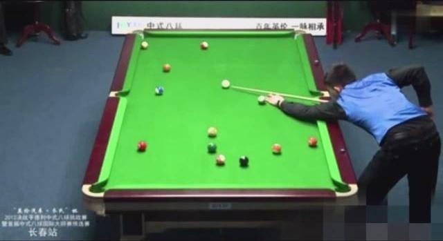 精彩清台瞬间 波茨和郑宇伯谁才是中式台球一哥