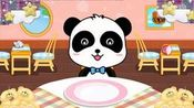 宝宝美食街欢乐美食街汉堡店、甜品店、烧烤店宝宝巴【游戏酷玩】