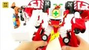 变形金刚 超级校车机器人合体组装变身