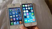 远古神兵无网对决:iphone4s ios6.1.3 VS iphone5s ios7.0.3,你怎么看。