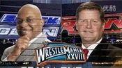 wwe美国职业摔角赛John Cena用饶舌歌向Rock挑战经典回顾
