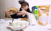 绿茶汤圆加美味面包552【处女座的吃货】中国吃播,国内吃播,歪丝投稿吃出个未来·吃饭直播,大吃货爱美食,大胃王,减肥,美食人生,吃饭秀