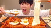 【sio】sub)吃泡菜、炒饭和鸡蛋、奶酪、香肠!韩国菜(2019年7月26日22时10分)