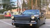 白俄罗斯采购的红旗L5阅兵车 FAW HongQi L5