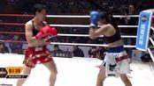 泰女将重拳出击顶着打,中国王聪猛攻硬怼乱拳击倒数次大获全胜