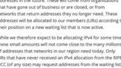 全球IPv4地址正式耗尽,将向IPv6过度