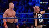 WWE美式摔跤娱乐 SD 3.7 塞纳情侣搭档配合天衣无缝 甜蜜羡煞旁人