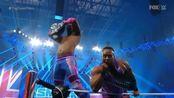 WWE英格兰曼彻斯特,新的一天与复兴的较量!