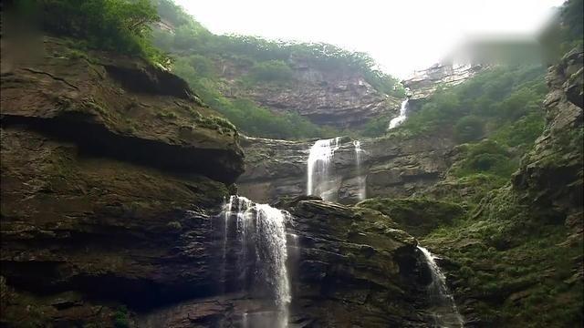 庐山瀑布,真美!