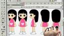 人物侧面行走01_梁火龙flash高级动画教程[www.dywawa.net]
