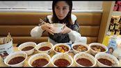 【中国大胃王密子君】(棒棒鸡)惊呆了一群吃瓜群众,吃播吃货美食!