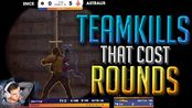 【CSGO】When Pro TEAMKILLS COST The ROUND! (Capitalizing On Enemies' Mistakes) -