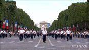 感受下盛大的法国阅兵式,凯旋门好壮观