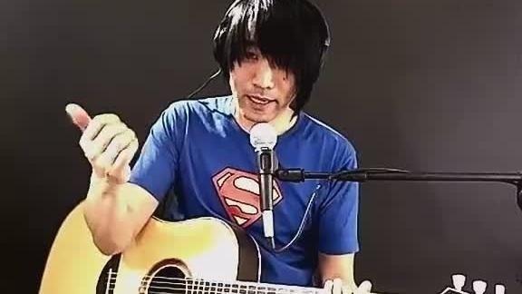 《姑娘》左轮吉他弹技巧分解视频教学
