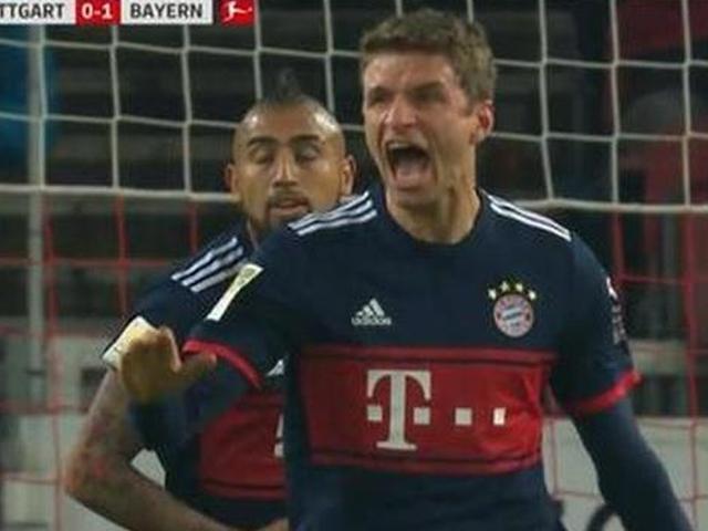 穆勒破门乌尔赖希扑点 拜仁1-0绝杀斯图加特
