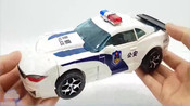 变形金刚_豪华大黄蜂高档领导警车汽车机器人玩具_美国玩具_【_俊和他的玩具们_】_1
