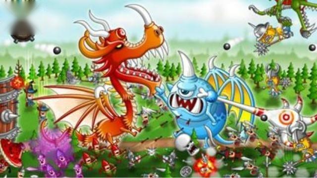 新游视玩:丑萌小怪兽攻城掠地《龙与城》封测试玩