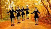 广场舞《最后的枫叶》,歌词诗意,音乐动感,舞姿轻盈