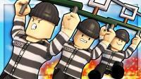 【Roblox越狱逃生模拟器】无所不能的狱友! 乐高发现狱警在看羞羞的书! 小格解说