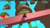 [小宝趣玩]Roblox 05 跑酷游戏 逃离唐纳德·特朗普 下集-Roblox在线游戏平台