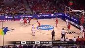 9月11日男篮世界杯1/4决赛 西班牙52:65法国 全场视频录像回放
