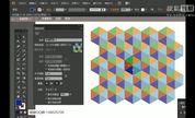 51rgb-ps教程案例【25】AI教程制作几何形状多边形背景平面设计教程20160411