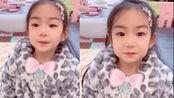 戚薇5岁女儿Lucky拍拜年祝福视频,古灵精怪惹人爱