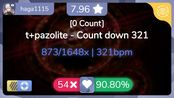 [7.96] haga1115   t+pazolite - Count down 321 [0 Count] +NFHD 90.8% {#4 Loved 5