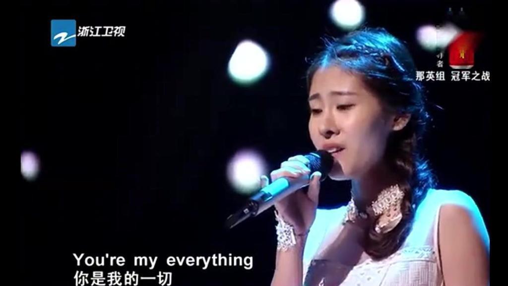 张碧晨《爱你的宿命》唱到高潮部分,掌声从未停止过,太震撼了