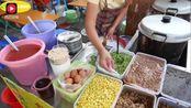 广西南宁街边小吃—肠粉,颠覆了广东人的做法,而且很受欢迎