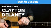 Classic country 2-chord intro lick (the year that Clayton Delaney died tutorial)