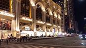 夜色下的澳门:豪华的建筑,百年葡韵文化,使人留恋