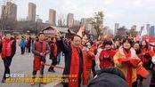 周总理家乡千人新年走大运,大运河沿线江苏八城数万人共祈福