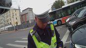 【kawasakiZ650 Moto Vlog】41#路口撒把骑车就遇上交警查车 举手投降 我错了。。。