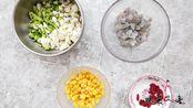 「鲜虾粥」媳妇儿煲的爱心早餐粥,营养美味,出锅连喝2碗,真过瘾!