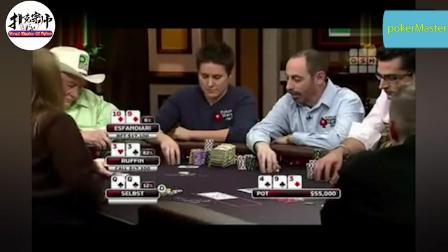德州扑克:拿到好牌一定不要急,小心学人家大逆转!