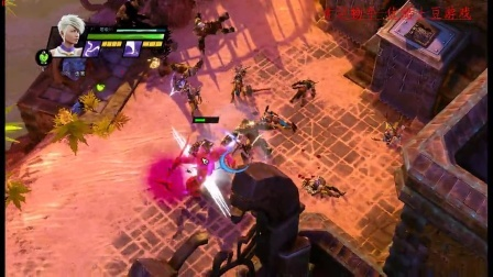 [物牛解说]圣域3与暗黑破坏神比肩流程攻略.第8关帕拉姆布隆要塞