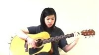笑傲江湖琴箫合奏 吉他指弹