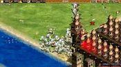 帝国时代三农混战,看着一个对手就行了