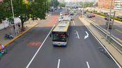 北京公交POV 300路外环 十里河桥北——十里河桥西 全程前方展望